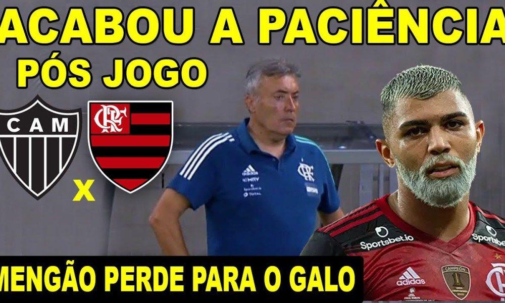 Vergonha Acabou A Paciencia Com Dome Flamengo Perde Para O Atletico Mg Pos Jogo Mengao 0 X 4 Galo Atletico Mg Flamengo Perdeu Atletico