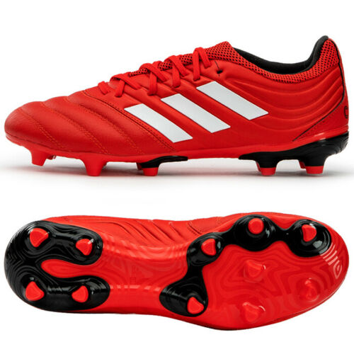 Adidas Copa 20 3 Fg Football Shoes Soccer Cleats Red G28551 Ebay In 2020 Football Shoes Soccer Boots Casual Boots