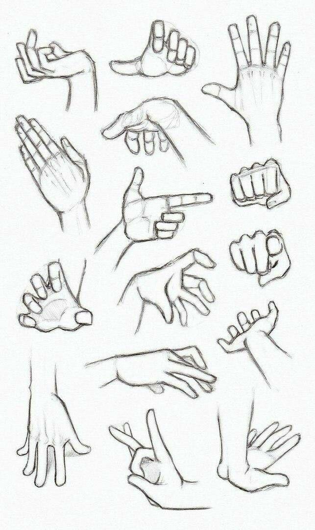 Ideas Para Aprender A Dibujar Manos Humanas De Manera Correcta Tutoriales Para Dibujar Bien Manos Dibujo Referencia Manual Manos Para Dibujar