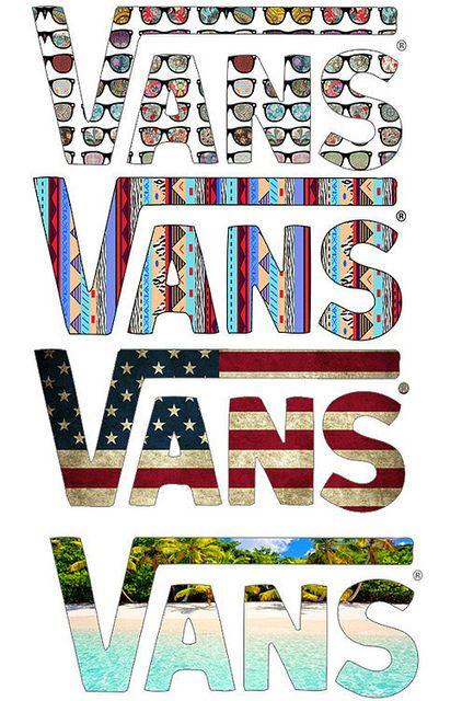 Original Vans Logo Vans Stickers