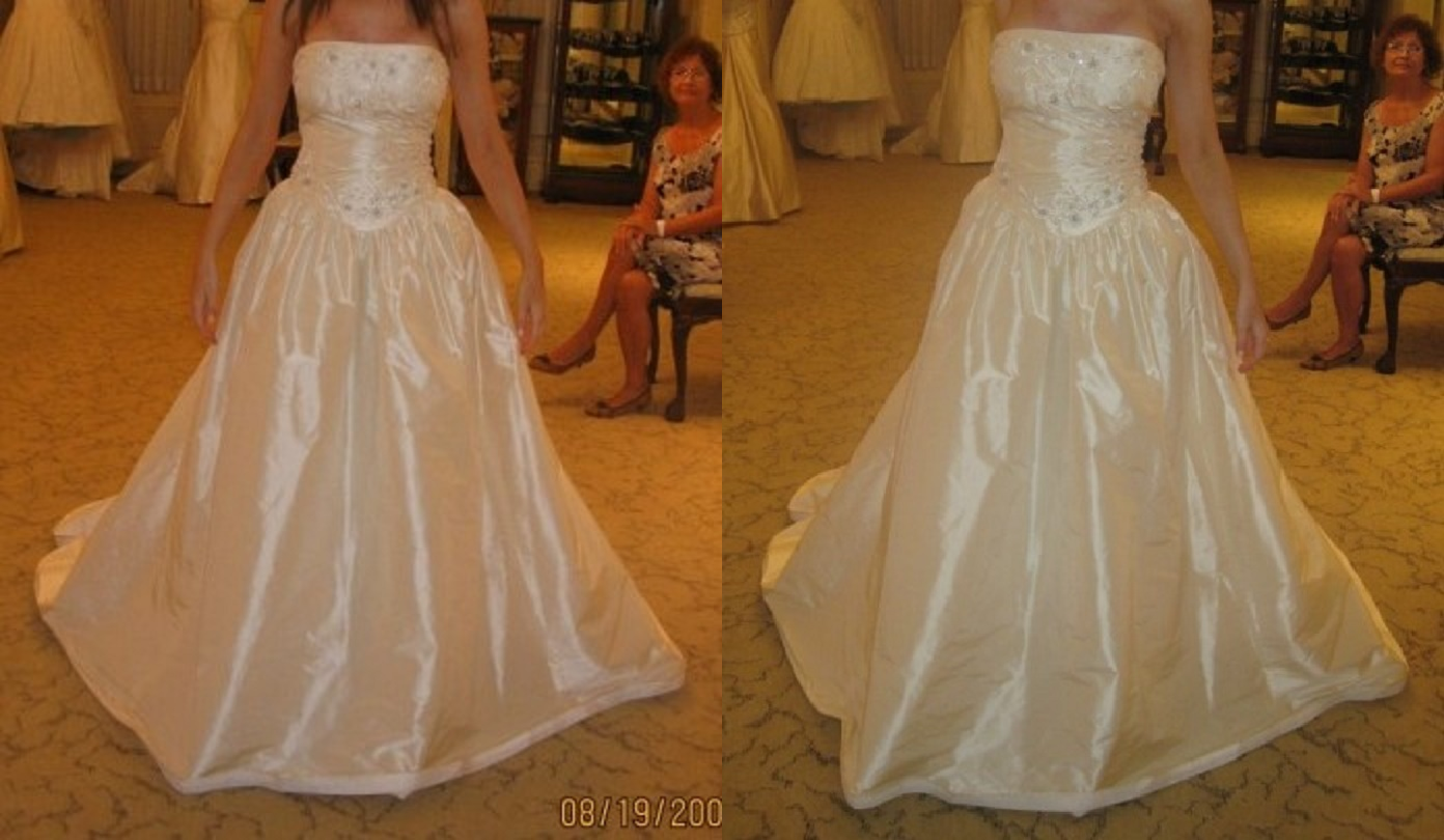 Priscilla of boston wedding dress  Pin by Dat Tuan on Priscilla of Boston Strapless Wedding Ball Gown