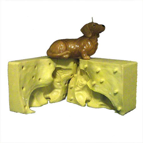 Young Dachshund Silicone Candle Mold