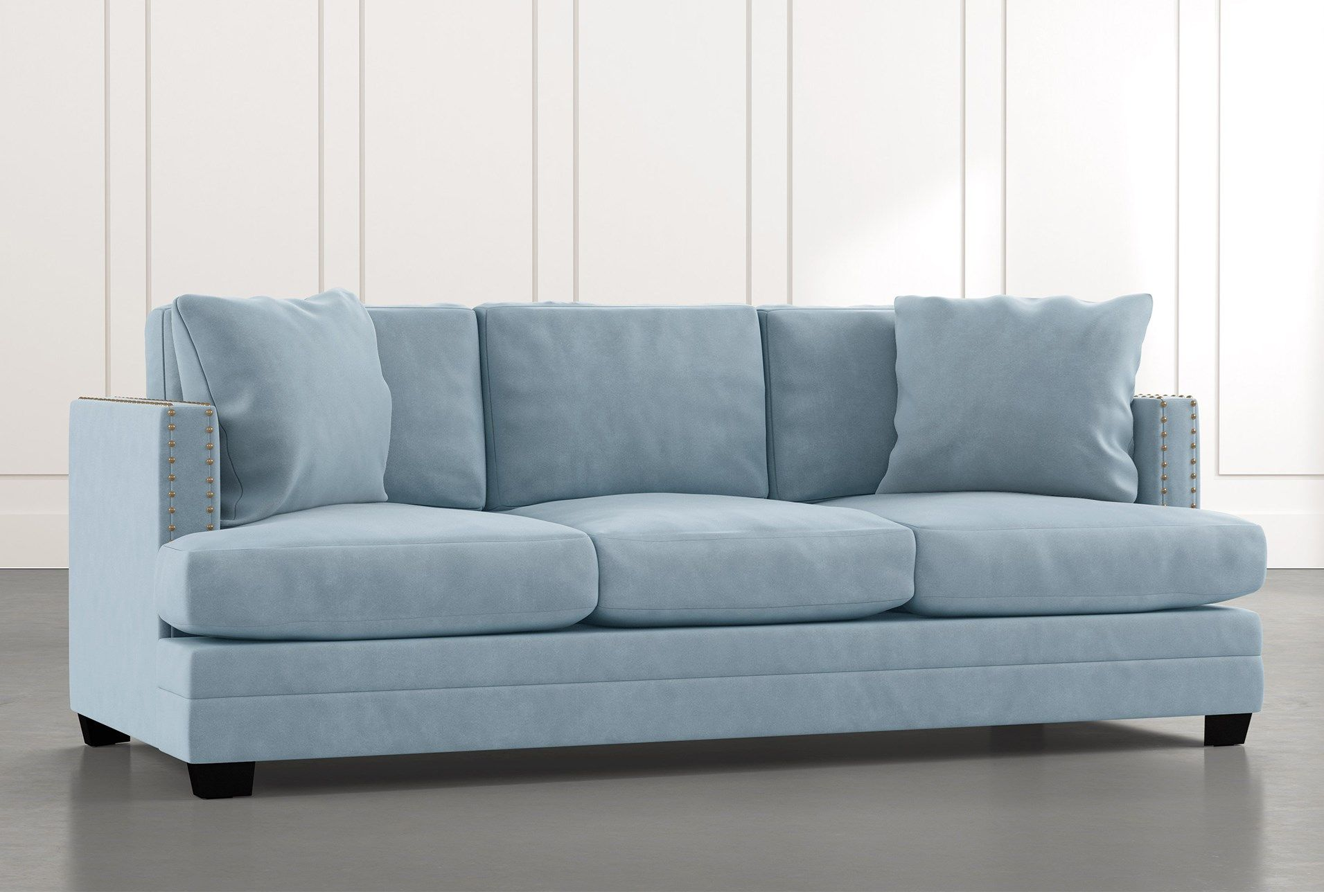 Kiara Ii Light Blue Sofa Light Blue Sofa Blue Sofa Light Blue Couches