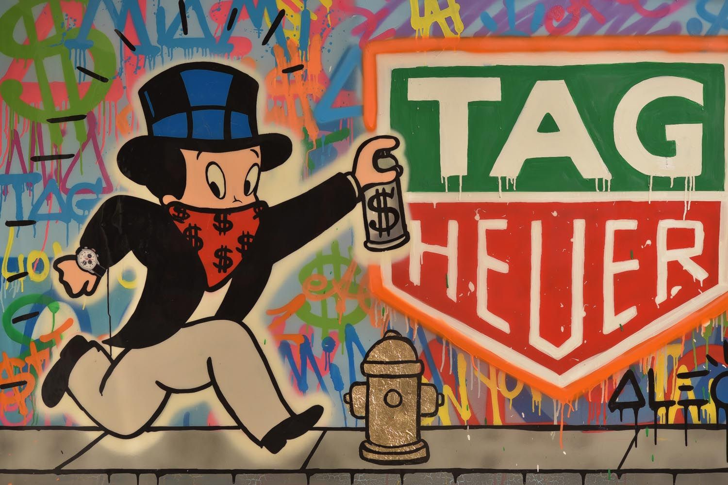 Tag Heuer Appoints Alec Monopoly As Art Provocateur And J C