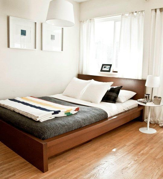 Pin By Apartment Therapy On Small Spaces Apartment Bedroom Decor Small Master Bedroom Home