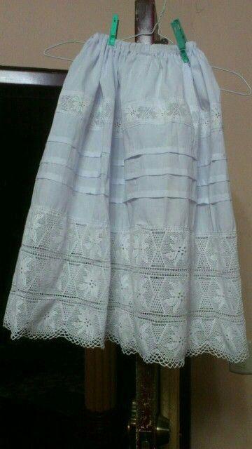 2090a1dc4 Peticote de Pollera | VESTIDOS ESTILIZADOS | Vestido tipico panama ...