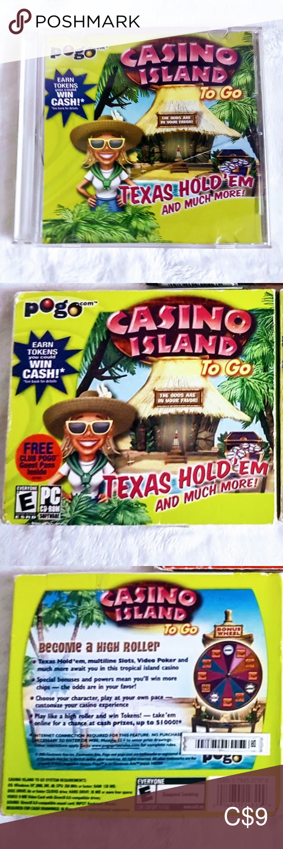 Casino Island to go Texas Hold 'em Video Game in 2020