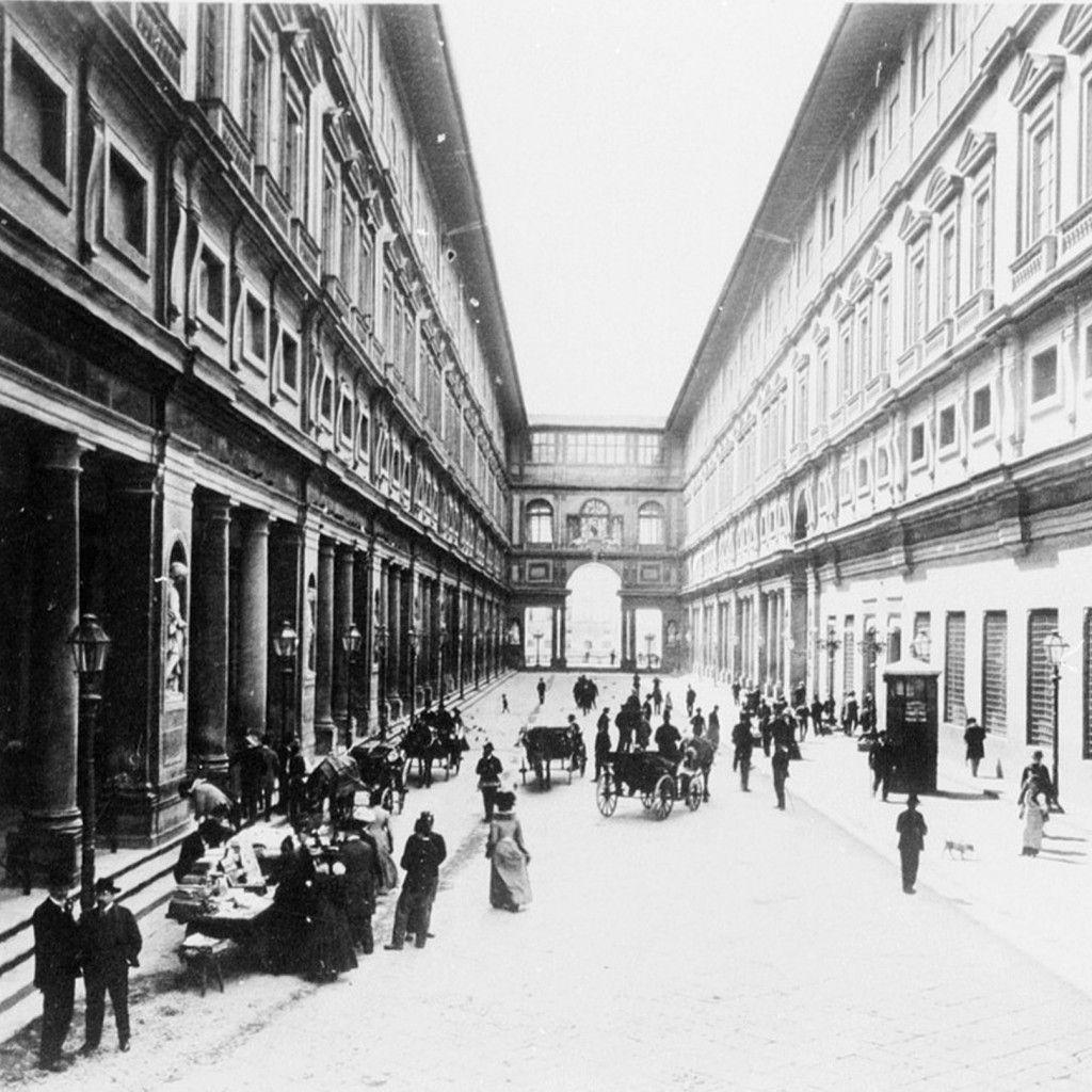 IT, Firenze, Uffizi. Architect Giorgio Vasari, 1581.