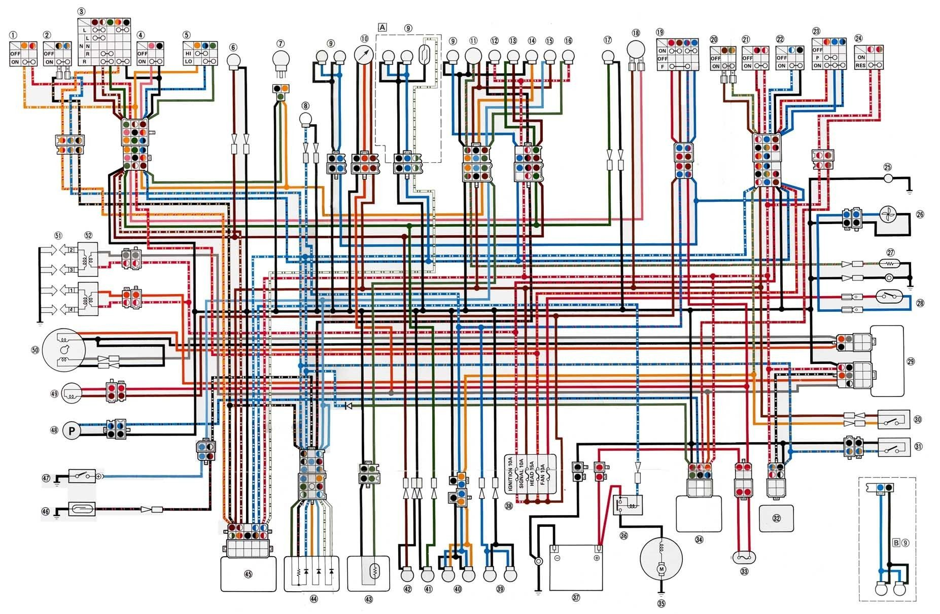 Awesome Wiring Diagram Xj 600 Diagrams Digramssample Diagramimages Wiringdiagramsample Wiringdiagram Schema