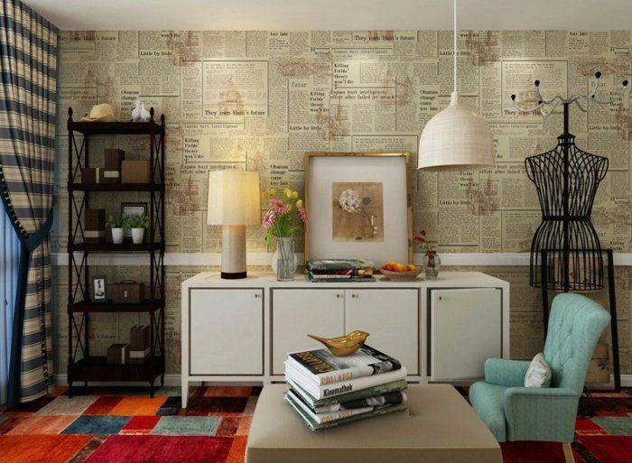 wandgestaltung f rs wohnzimmer 36 kreative und ideenreiche beispiele wandgestaltung. Black Bedroom Furniture Sets. Home Design Ideas