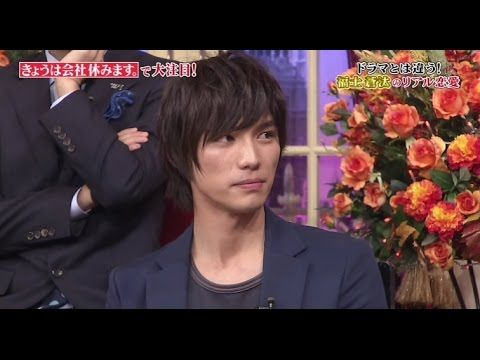 Sota Fukushi - Shabekuri 007 (Part 1), talk show. Nov. 2014