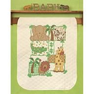 Cute Cross Stitch Blanket kit by Simply Shelly.