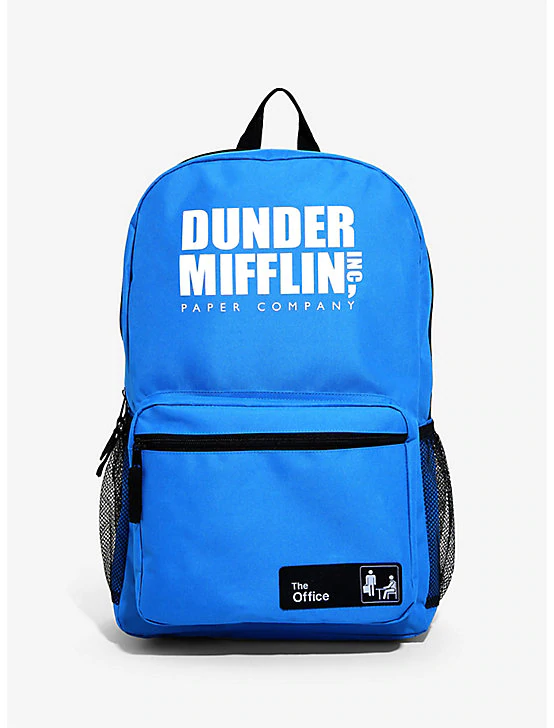 2c078b4de7bd The Office Dunder Mifflin Blue Backpack, | Bags in 2019 | Backpacks ...