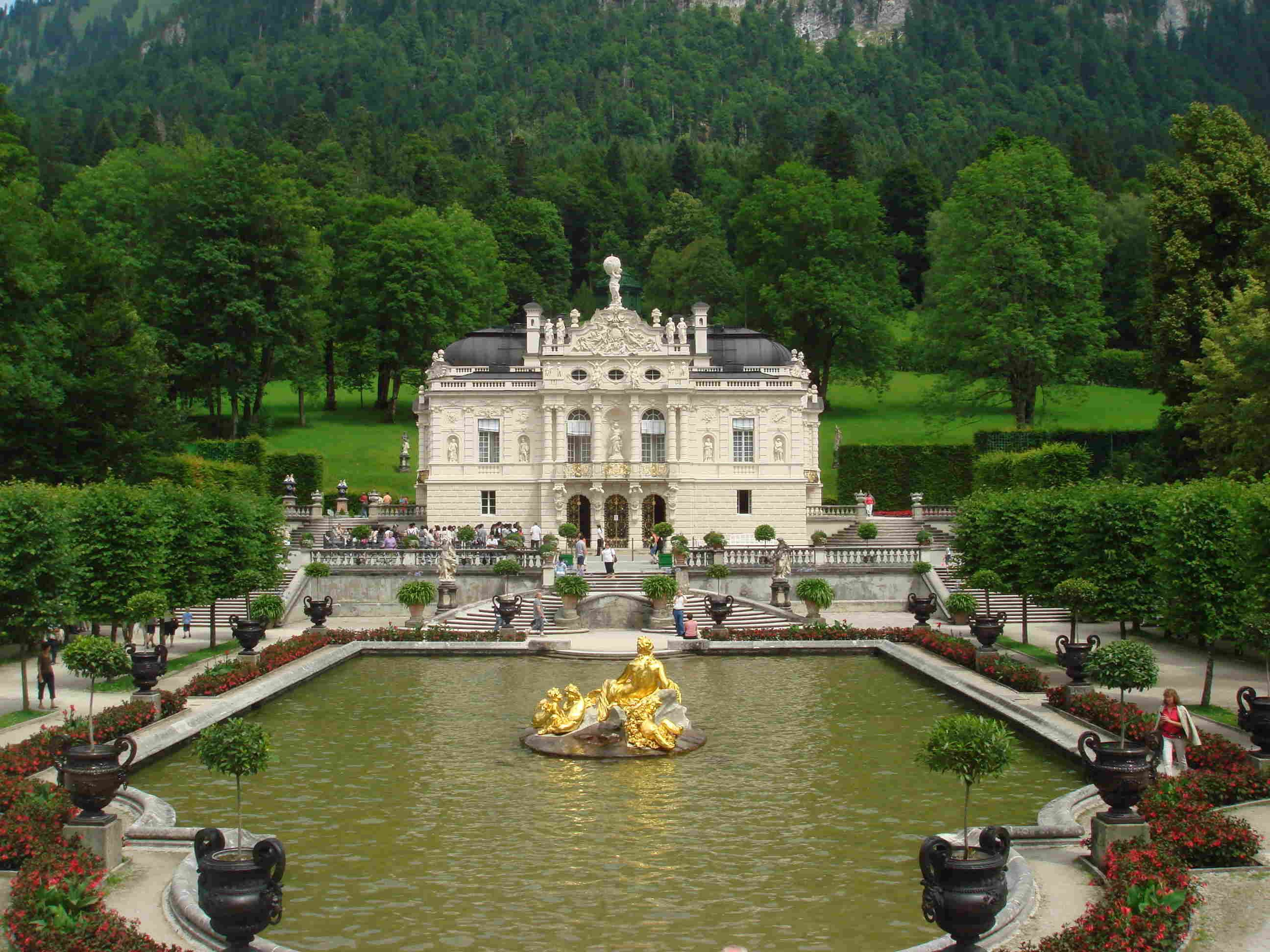 Linderhof Castle Germany Schloss Linderhof Verlassene Orte Bayern Schloss