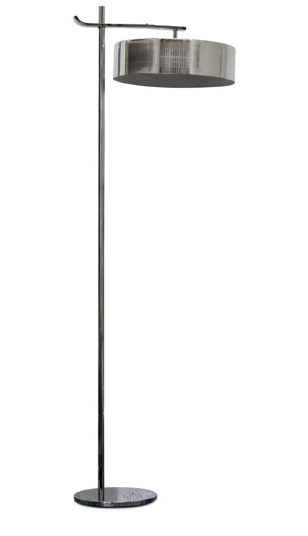 Art Deco Floor Lamp Prepossessing Kurt Versen Lightolier Fliptop American Art Deco Floor Lamp Design Ideas