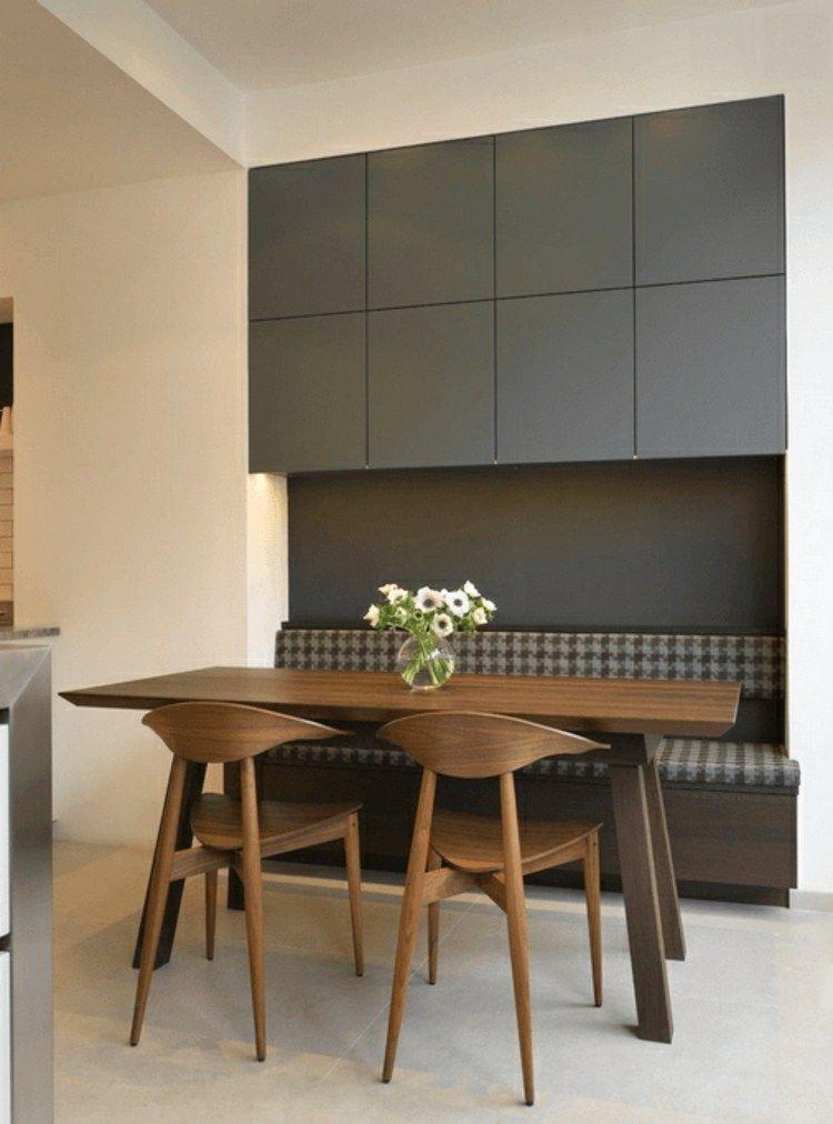 meuble moderne multifonctionnel avec rangement   Banquette salle à manger