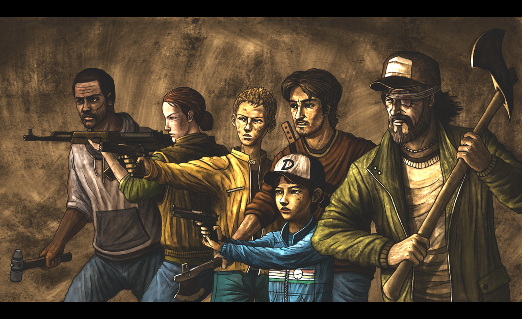 The Walking Dead Game Characters Season 2 The Walking Dead