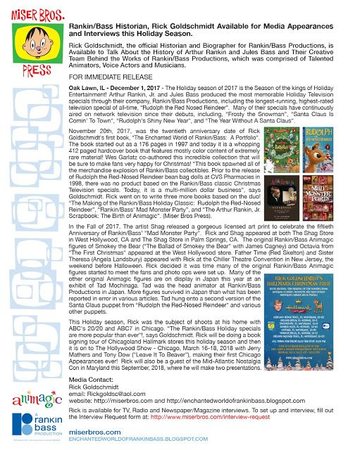 Rankin\/Bass-historian Christmas Press Release Christmas Pinterest - holiday request form