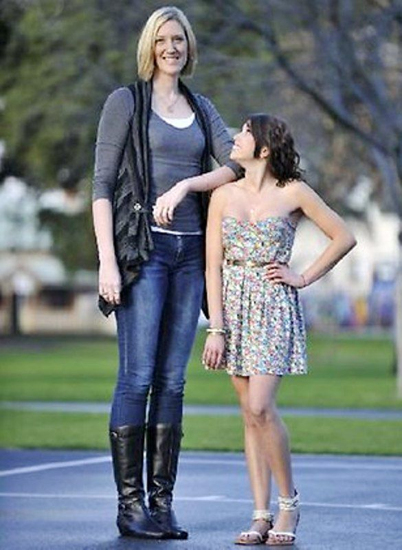 Tracey 202cm Vs Jasmine 164cm Very Tall Is Also Beautiful