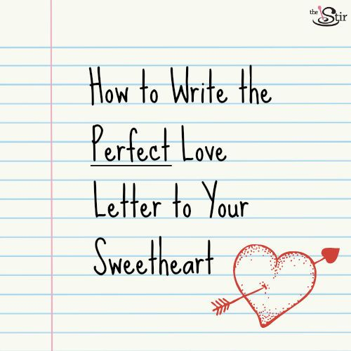 Find out how to pen the most romantic love letter ever and