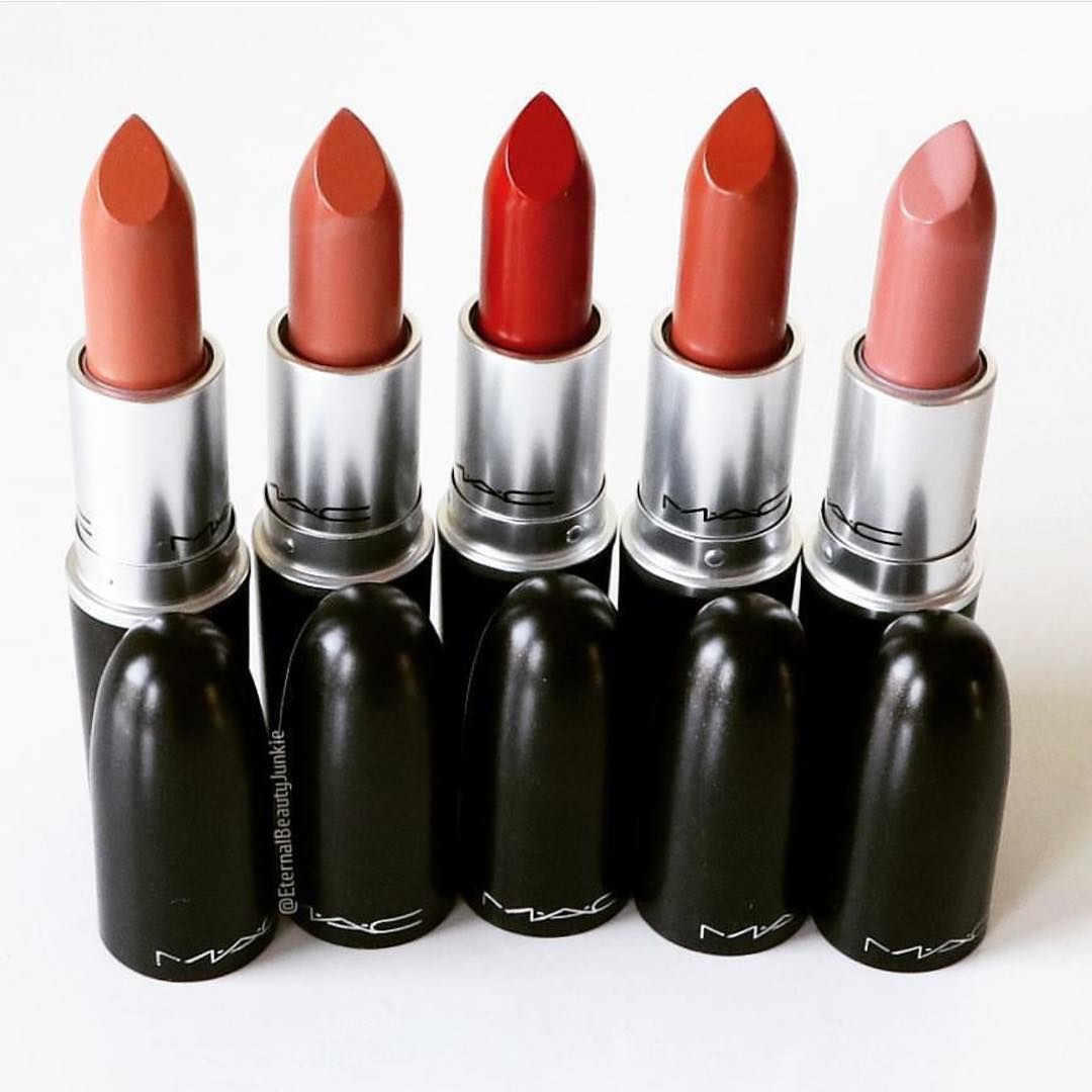 Gorgeous Mac Lipsticks Are Awesome – Yash, Honey Love, Chili, Strip Me Down, Lar Lar Lee