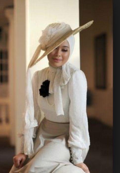Hijab And Fascinator How To Wear Hijab Hat Fashion Hijab Fashion