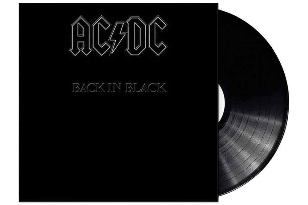 Ac Dc Back In Black In Shrink Lp Vinyl Record Album Acdc