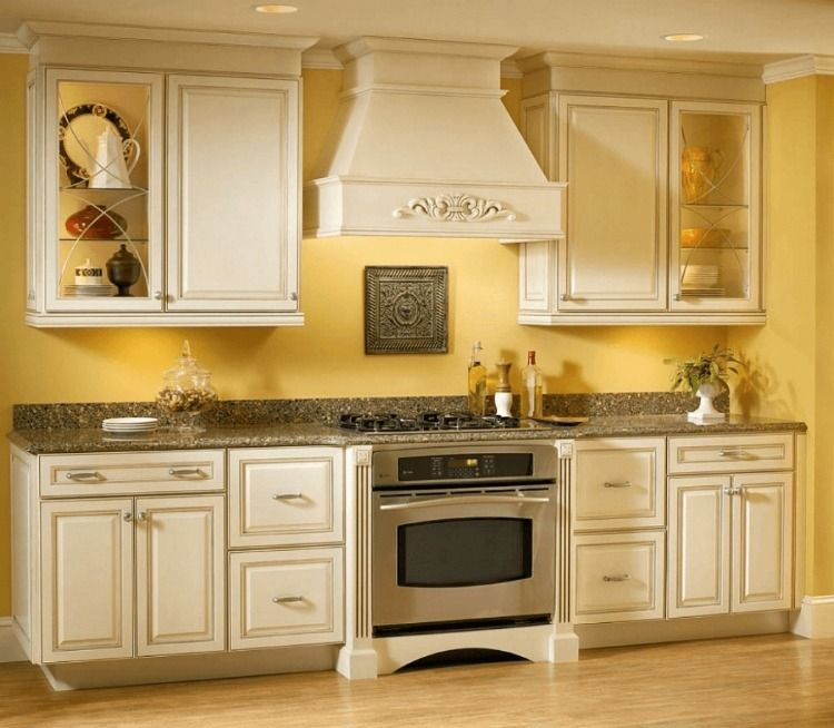 Mustard Yellow In Your Small Kitchen