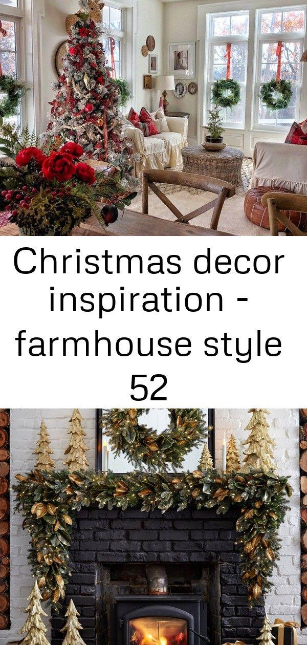 Christmas decor inspiration - farmhouse style 52 #magnoliachristmasdecor