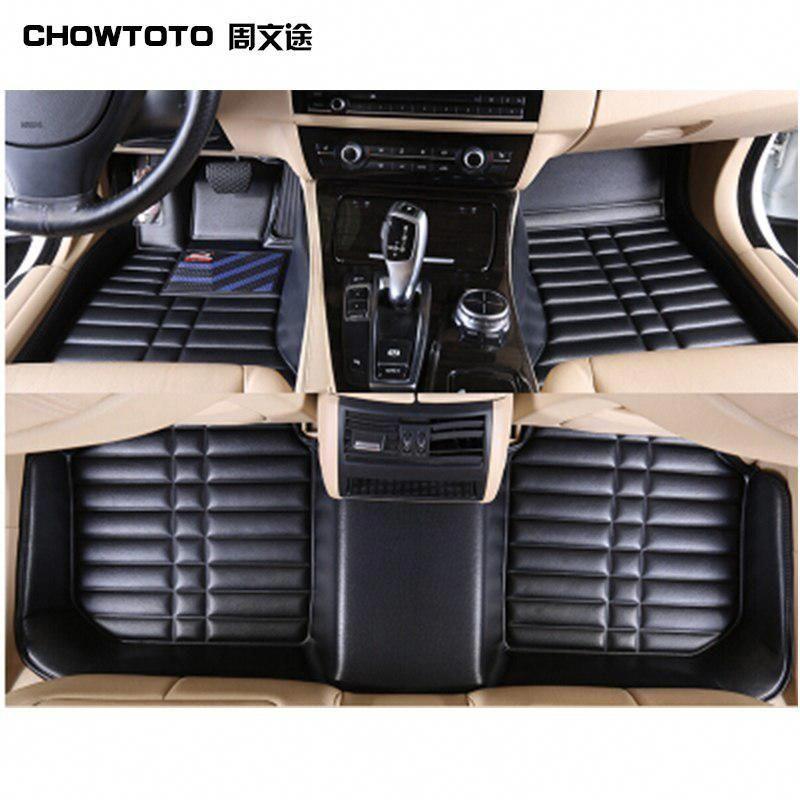 Chowtoto Aa Floor Mats For Chevrolet Captiva Trax Camaro Cruze Malibu Epica Aveo Sail Spark Waterproof Chevrolet Captiva Volkswagen Jetta Interior Accessories