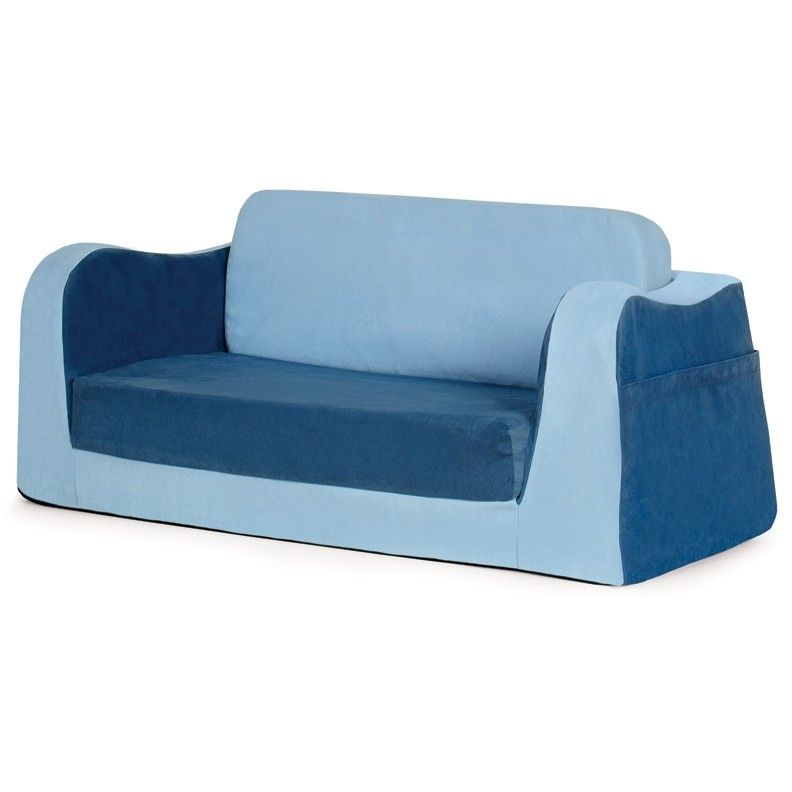 Delicieux Blue Toddler Sofa   Little Reader Sofa   PKFFLSABL   Pkolino
