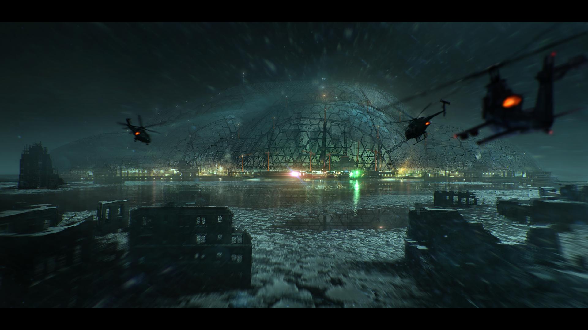 Cúpula de la Libertad, otrora NY, Crysis 3