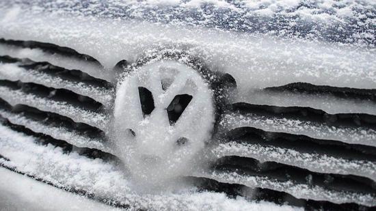 Frostige Zeiten Für VW   Foto: Dpa
