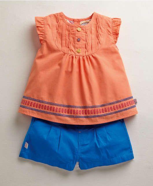 Girls 2 Piece Short Set #Baby #Clothes