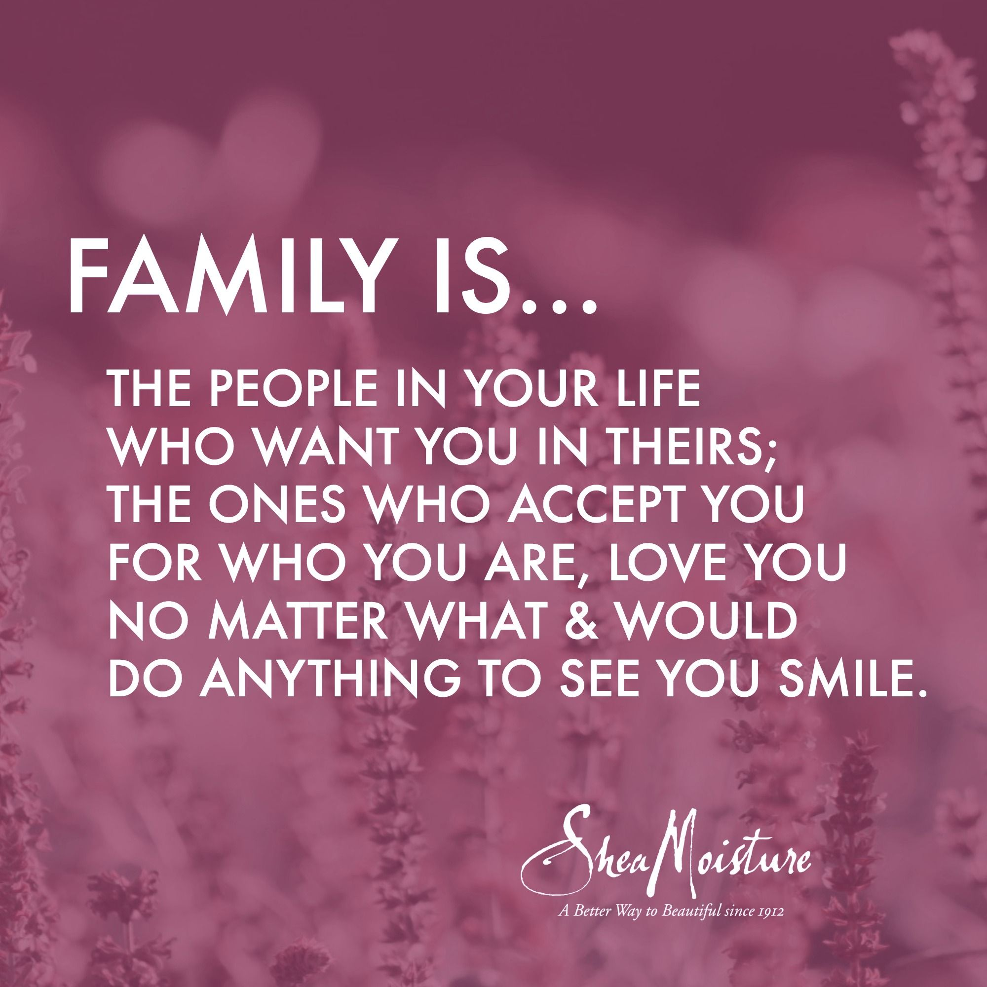 This Is Important To Me Because It Is Your Family You Should Be Able To Be Yourself Family