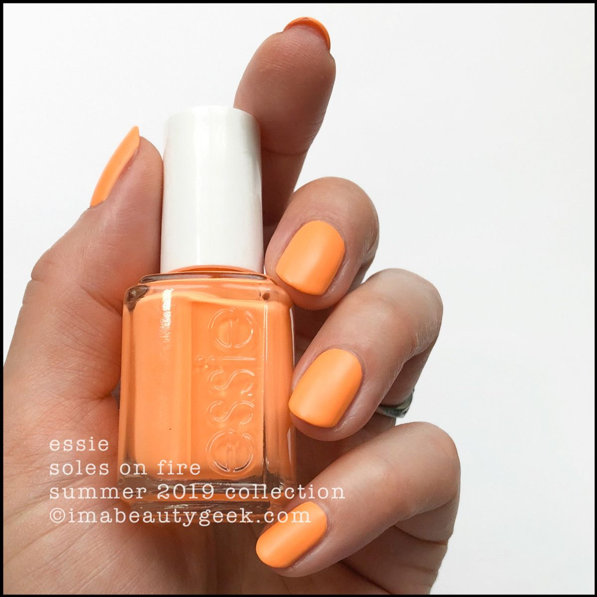 Essie Summer 2019 Neon Collection Swatches With Images