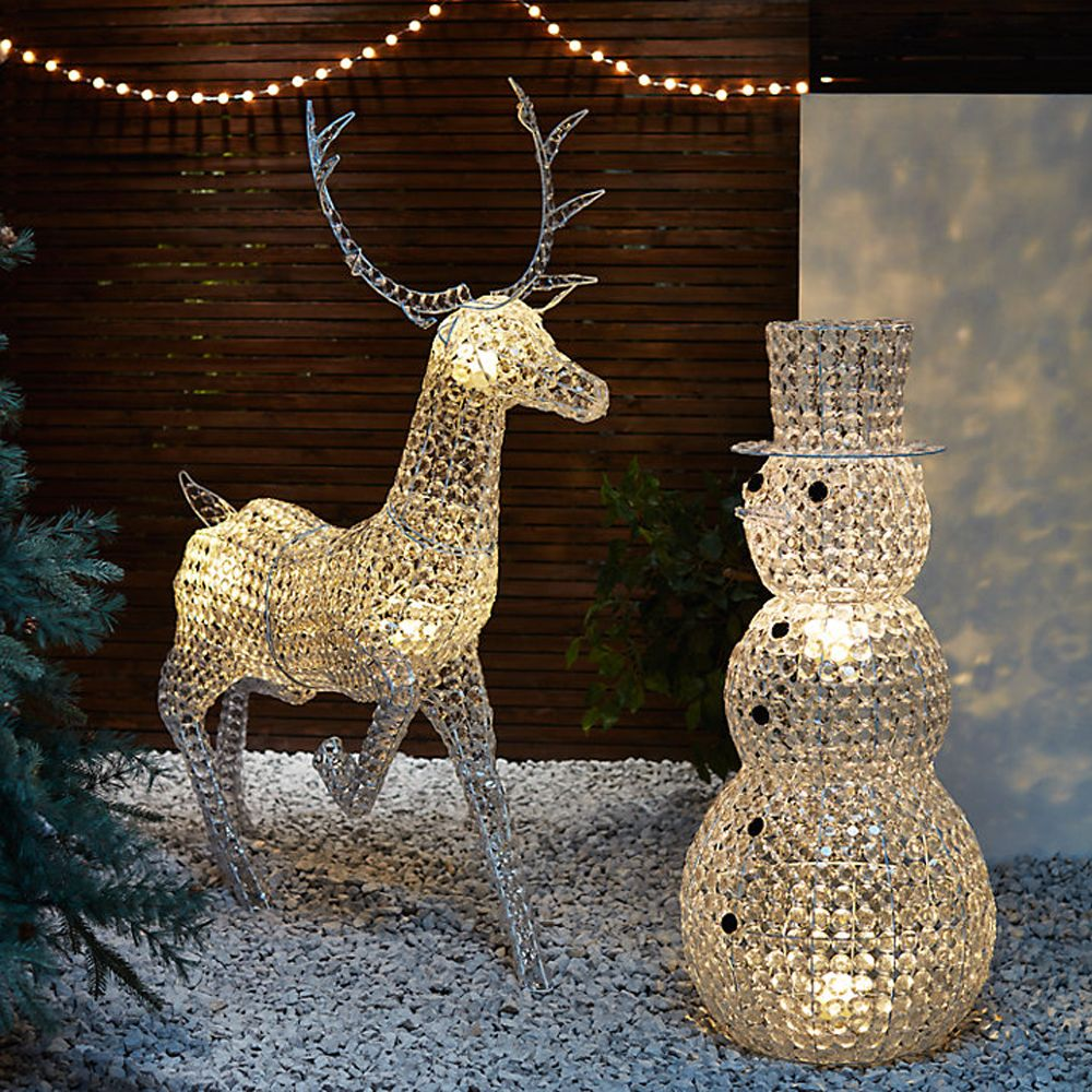 Outdoor Reindeer Lights Best outdoor christmas lights to give exteriors festive sparkle are you switched on to the power of outdoor christmas lights christmas decorating is no workwithnaturefo
