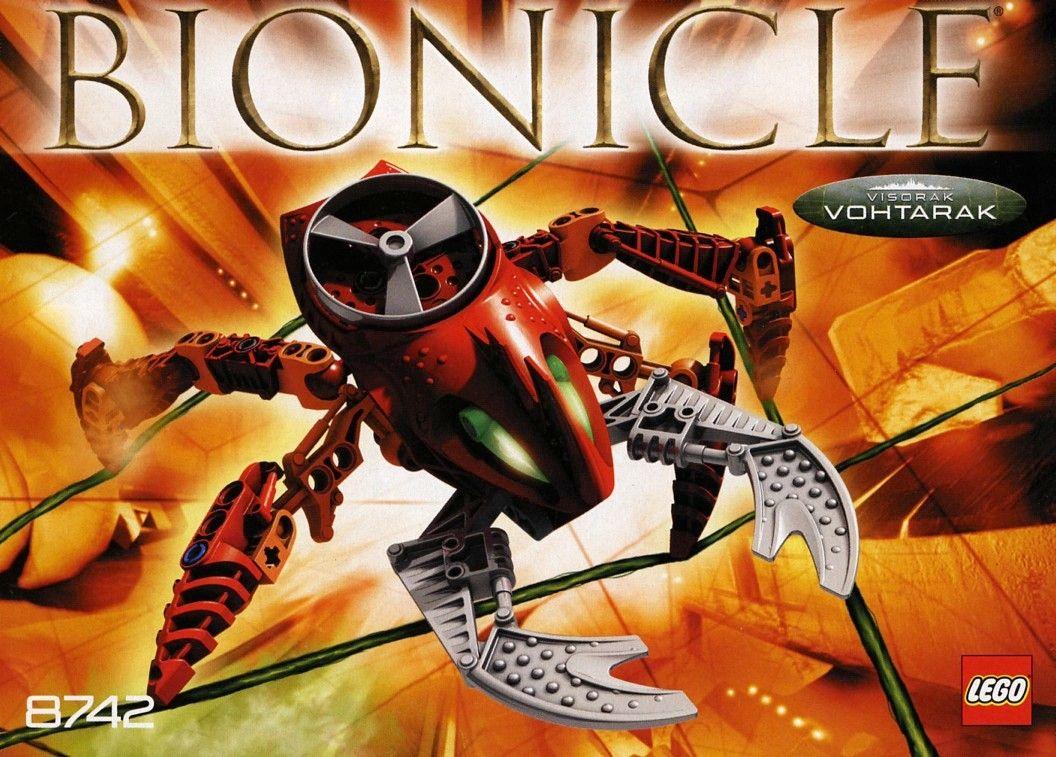 87421 visorak vohtarak in 2020 bionicle lego lego