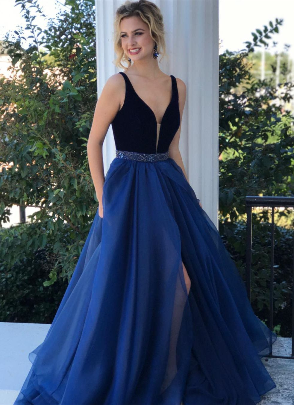 Elegant Long Prom Dresses 2018