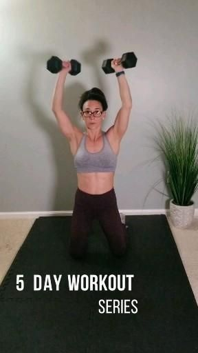 Fat burning full body at home workout series