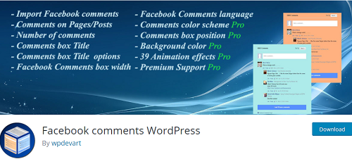 facebook plugins wordpress