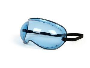 Schutzbrille Bubble Goggle -PAULSON- blau getönt