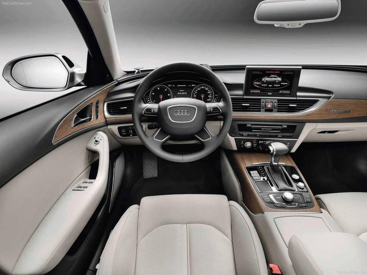 Audi A6 interior, that's what it's all about :)