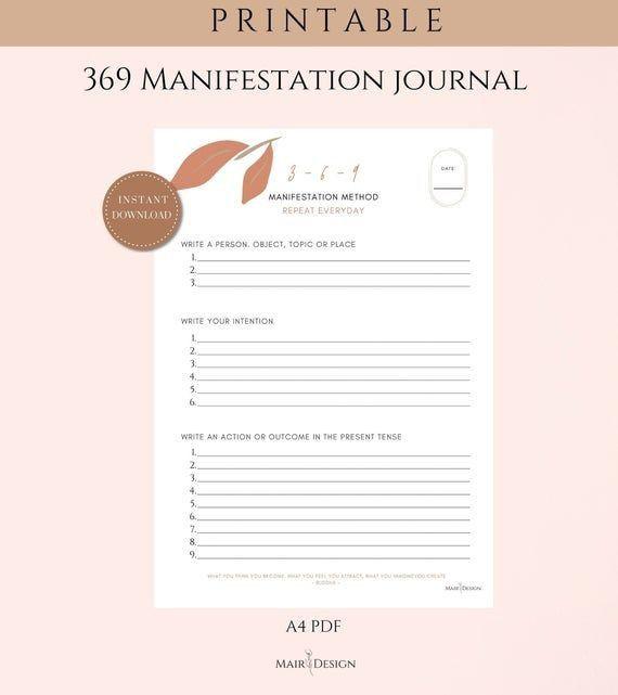 How do you manifest money using 369?