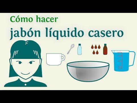 C mo hacer jab n l quido casero ingredientes - Como hacer plastico liquido ...