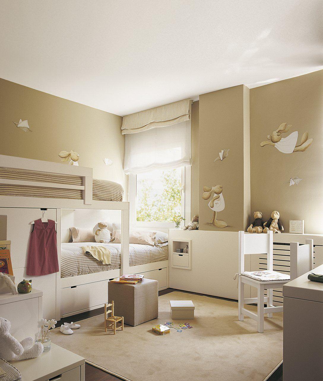 Cinco habitaciones de ni os solucionadas a medida for Dormitorio ninos diseno