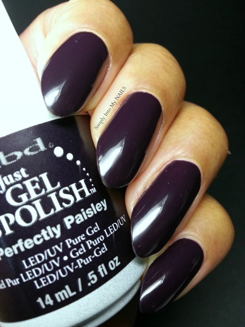 IBD Just Gel Polish Perfectly Paisley | Simply Into My NAILS | LED ...