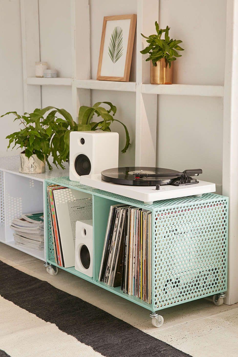 Zoey Rolling Storage Bin Muebles Para Casa Muebles De Musica Diseno De Muebles #storage #bins #for #living #room