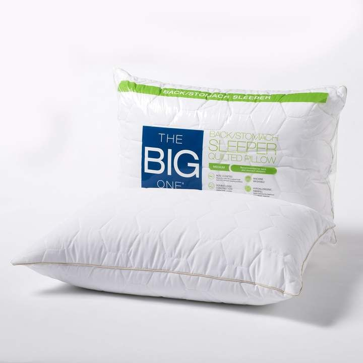 The Big One Quilted Back Stomach Sleeper Bed Pillow With Images