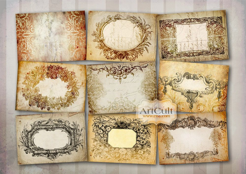 free printable antique labels - Google Search
